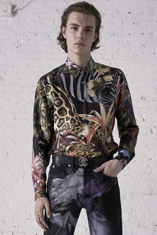ItsNotYouItsMe Blog: Alec Pollentier Models Roberto Cavalli