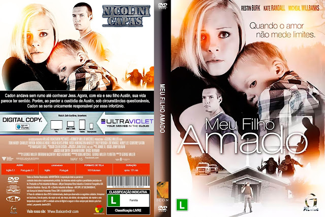 Capa DVD Meu Filho Amado
