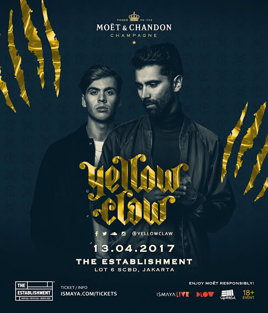 Yellow Claw Live in Jakarta - Lorong Musik