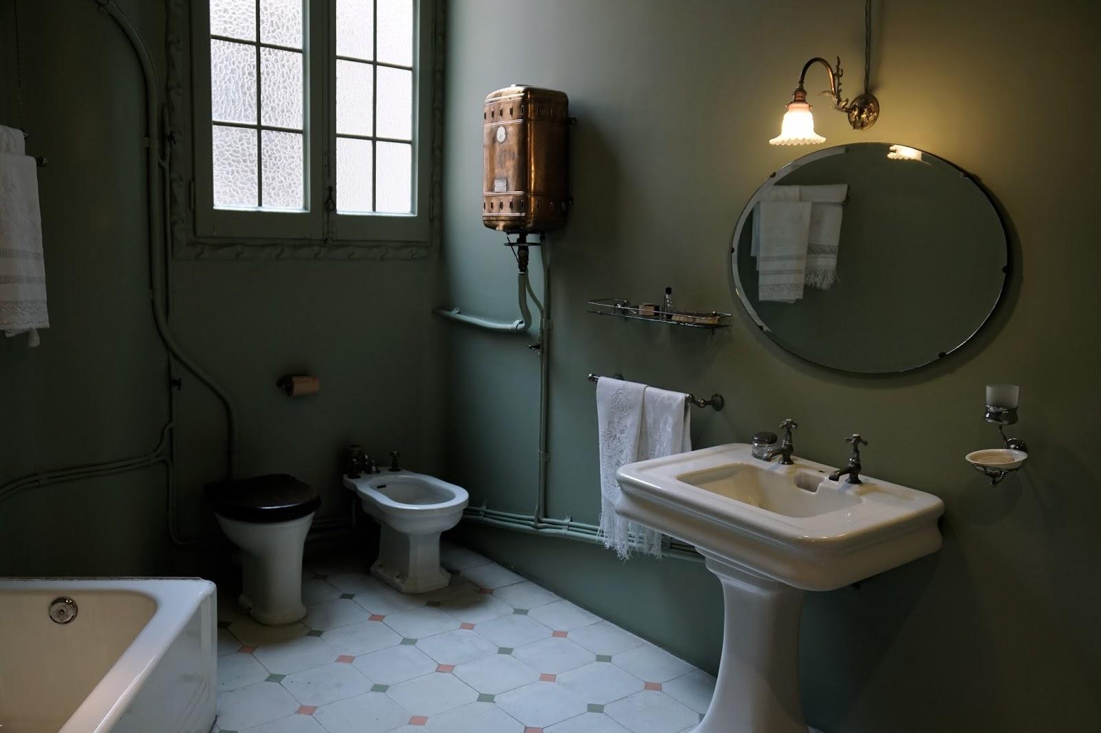 カサ・ミラ(Casa Milà) バスルーム