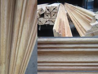 nẹp gỗ trang trí