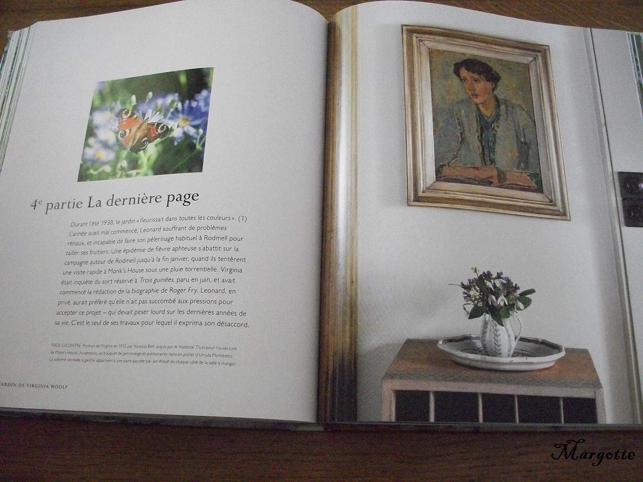 Le bruit des pages le jardin de virginia woolf de for Le jardin de caroline restaurant