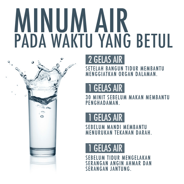 Berapa banyak air yang harus Anda minum setiap hari?