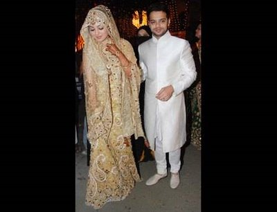 Ayesha Takia Wedding Reception Pictures