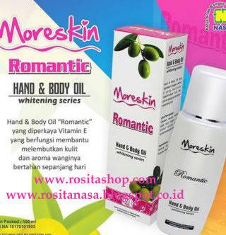 khasiat manfaat Moreskin hand body lotion romantic