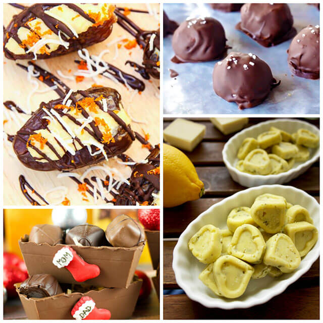 70+ Homemade Christmas Food Gifts: Chocolate Recipes Like Truffles, Balls & Fudge
