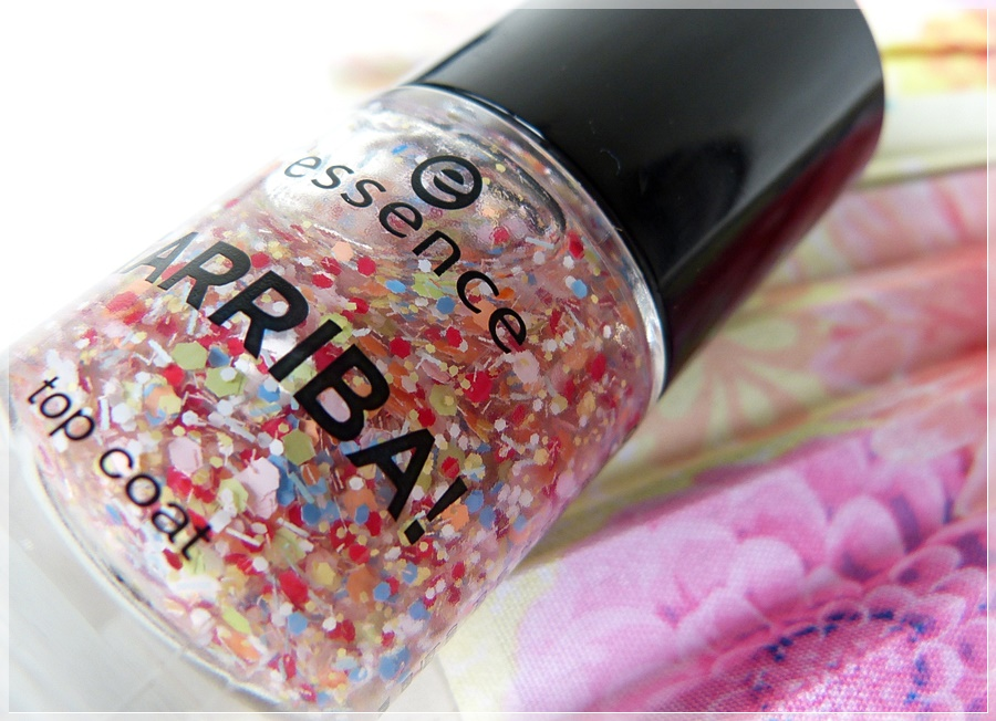 essence arriba Topcoat Festival of Colours