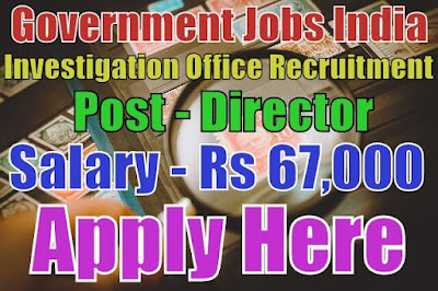 Serious fraud investigation office sfio recruitment 2017