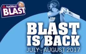 Natwest T20 Blast Match Predictions 2017