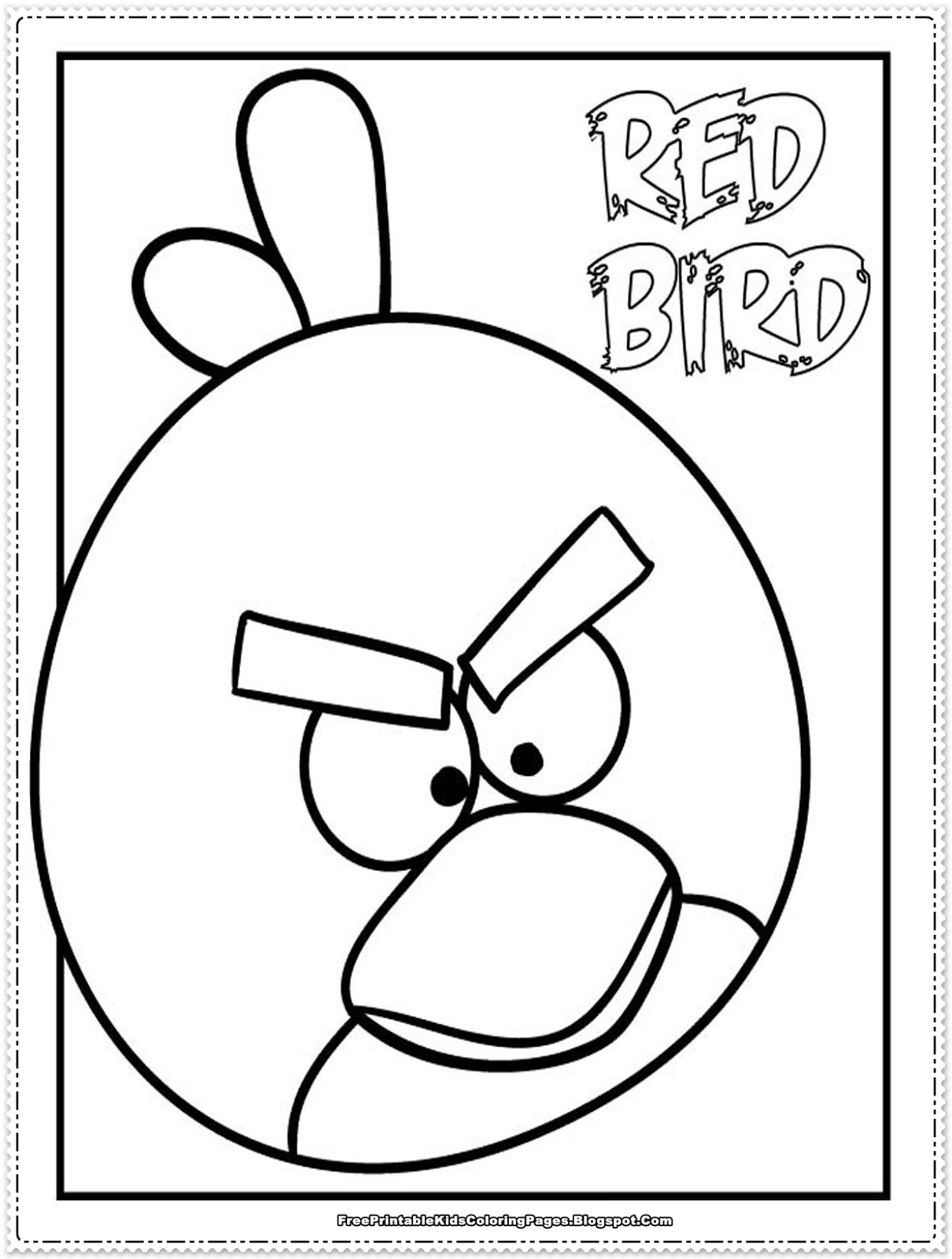 angry birds coloring pages game - photo#26