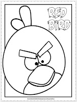 angry birds coloring pages for kids printable
