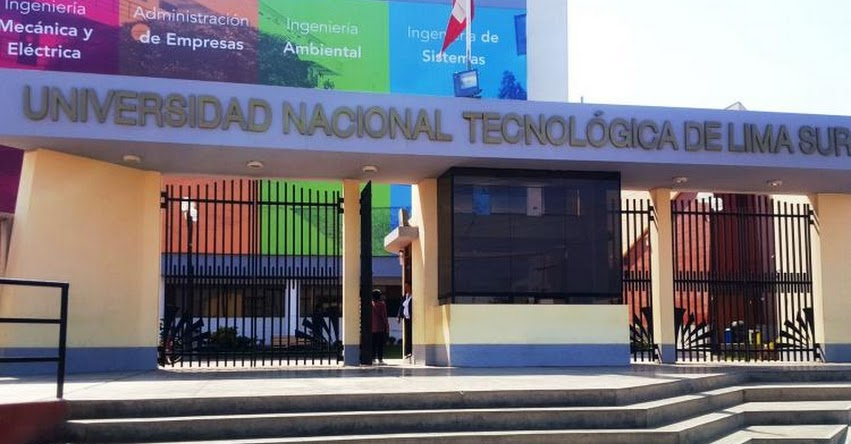 SUNEDU otorga licenciamiento a Universidad Nacional Tecnológica de Lima Sur - www.sunedu.gob.pe