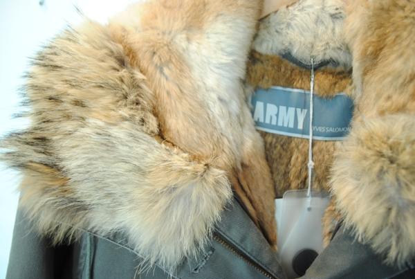 army yves salomon parka