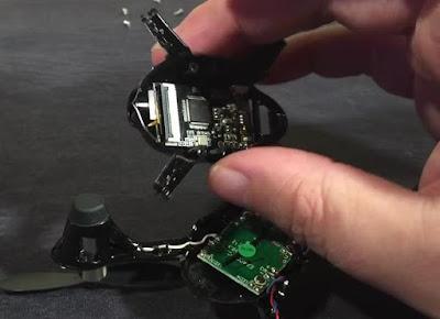 Cara Mengganti Lensa Kamera Hubsan H107c  - OmahDrones