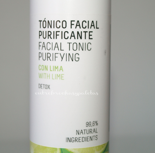 tonico purificante freshly cosmetics