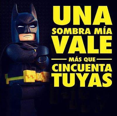 Una sombra mía vale más que 50 tuyas #Batman