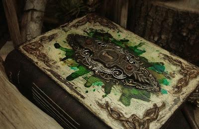 alchemy journal handmade