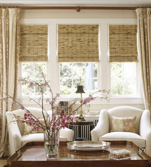 Chameleon design how to choose the right window treatment - Living room picture window treatments ...