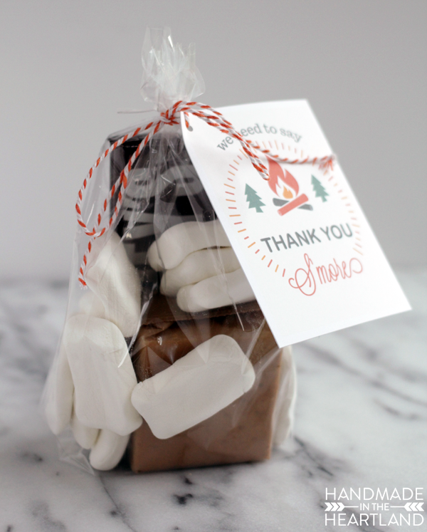 S'more Thank You Gift Free Printable