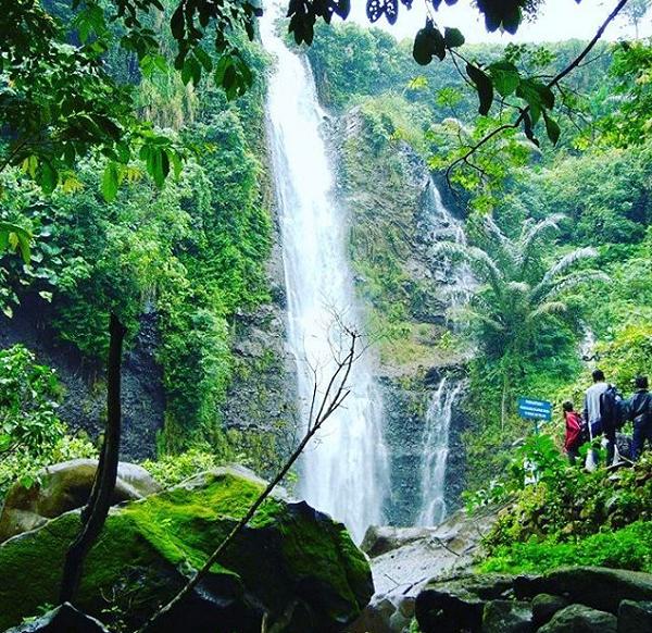 Air Terjun Songgolangit, Jepara, Jawa Tengah