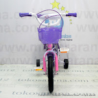 Sepeda Anak Perempuan Erminio 2208 Butterfly 12 Inci