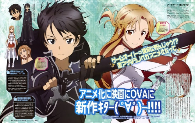 sao1 - Top 10 Anime Batch Populer Yang di Download [Agustus-September]