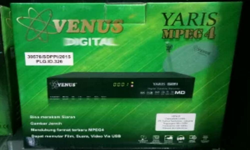 Harga Receiver Venus Yaris dan Spesifikasinya