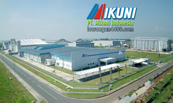 Lowongan Kerja PT. Mikuni Indonesia Mm2100 Terbaru