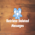 Find Deleted Messages In Facebook.