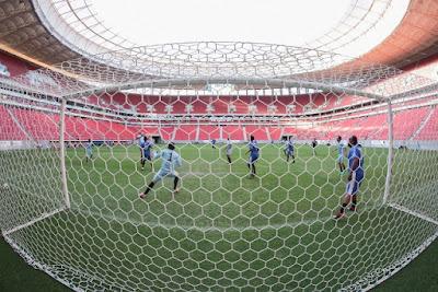 Final da primeira copa de garis do Brasil será domingo no Estádio Nacional de Brasília