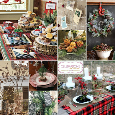 Winter Chalet Inspired Holiday Party Ideas