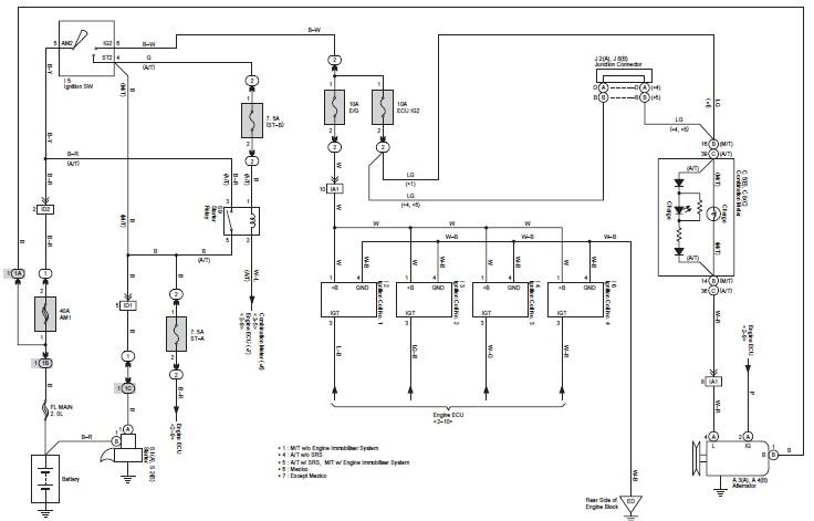 diagram wiring sistem ac pada mobil