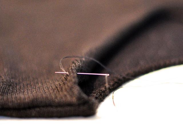 DIY Open Back Sweater