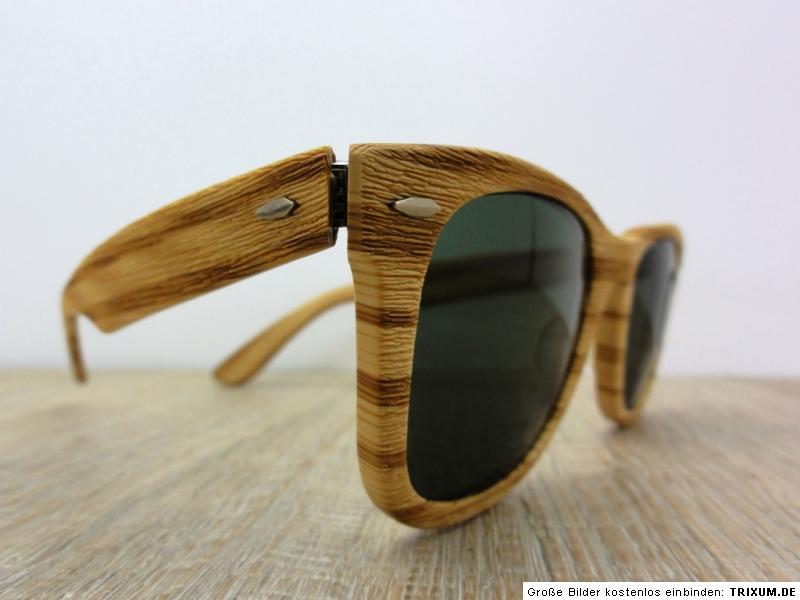 2169a5477cbe Wooden Wayfarers Ebay