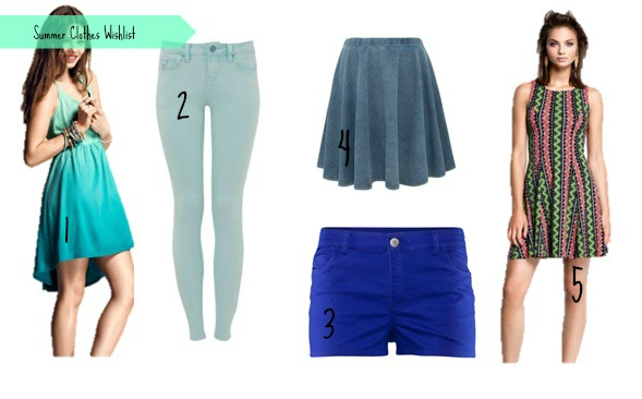 Summer Wishlist #1 | Clothes