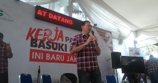 Ahok Tegaskan Tak Hanya Membangun Fisik di Jakarta