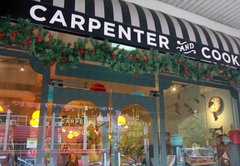 carpenter & cook door front