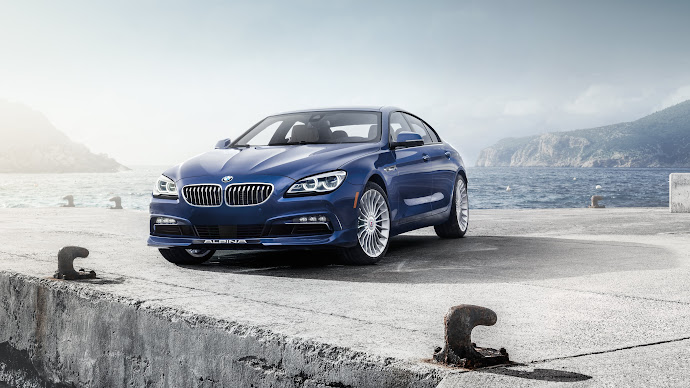Wallpaper: BMW ALPINA B6 xDrive Gran Coupe