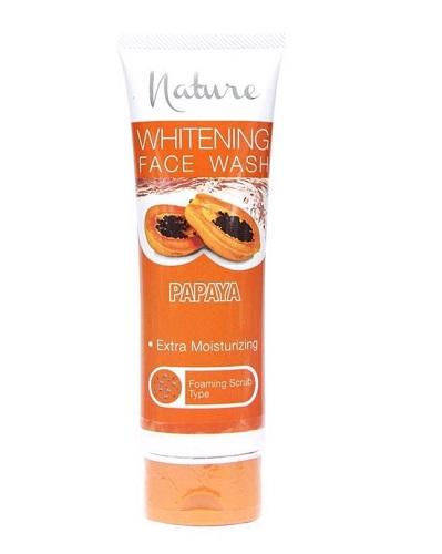 Nature Papaya Whitening Face Wash 100 ml