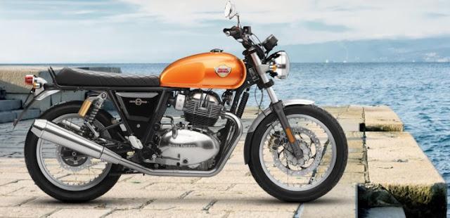 Royal Enfield Interceptor 650cc bike