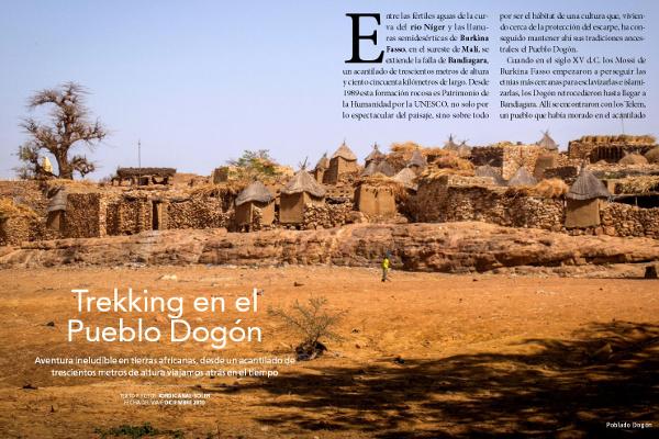 Trekking en el País Dogón