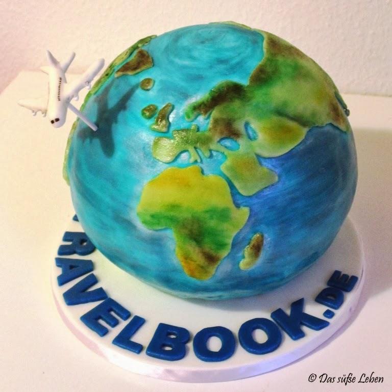 Rezept Eine Globus Torte Fur Travelbook De Das Susse Leben