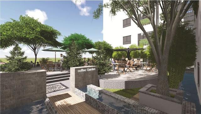 Cafe Garden Ecolife Tây Hồ