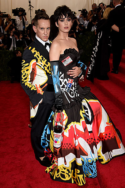 Jeremy Scott and Katy Perry