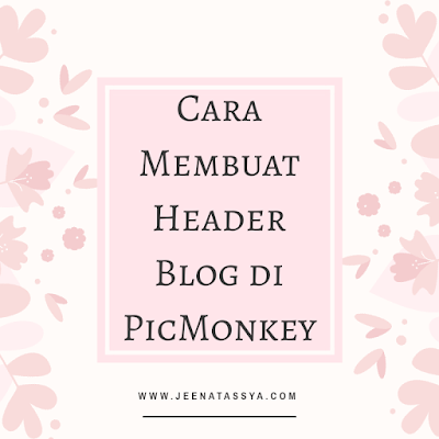 Tutorial membuat blog header dengan free floral elements vector