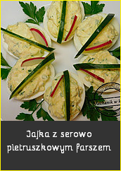 Jajka z serowo pietruszkowym farszem Przepisy święta Wielkanoc wesołych świąt jajko pisanka jak zrobić przygotować barwniki pomysł na dania Wielkanocne śledź post bezmięsne fit dania wegańskie mięso mechanik w kuchniblog kulinarny przepisy kulinarne you tube