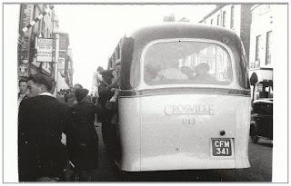 High Street, Crosville single decker bus