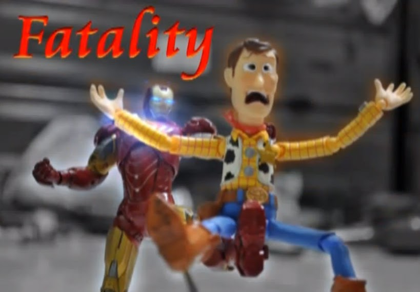 The Daily Zombies: Iron Man vs. Woody & Buzz Lightyear ...