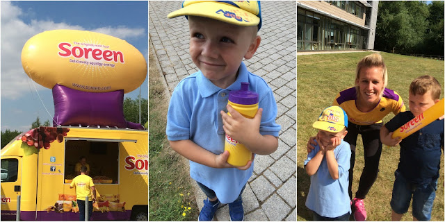Having fun and getting families active with Soreen family fitness