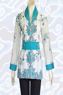 Baju Batik Muslim Wanita Gemuk